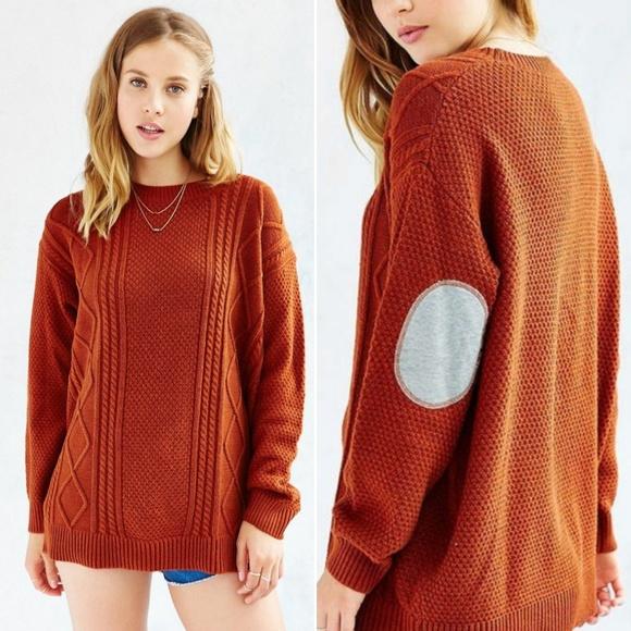 BDG Elbow Patch Sweater. M 5b94a9c2c2e9fef84ce0b716 fabb22f09